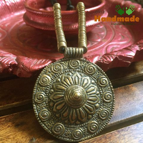 Dokra Tribal Necklace Dhaal