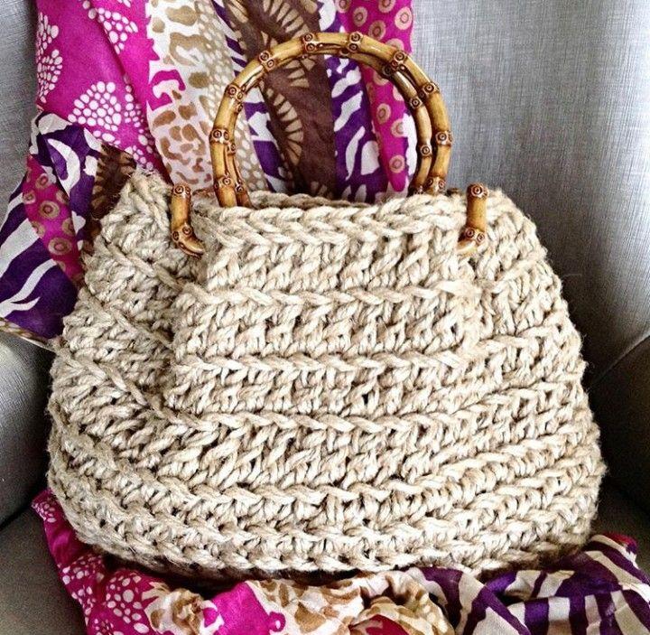 Mejores 418 imágenes de Crochê e Tricô - Bolsas 19 en Pinterest ...
