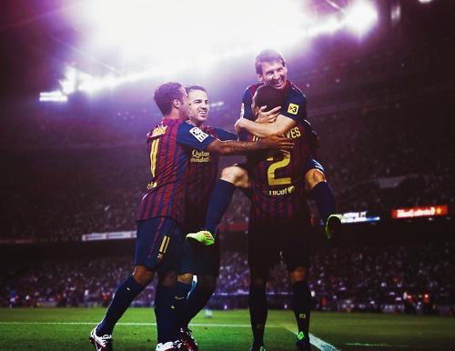 Barça.. Barça.. Barça!