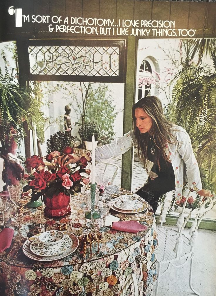 Barbra Streisand House Tour - August 1974 House Beautiful