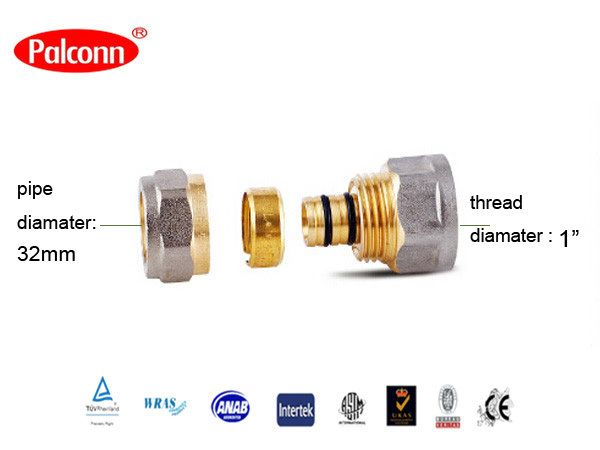 """Find More Pipe Fittings Information about 2015 Hot Sale Coupling light plumbing fittings Pipe Plastic Copper Brass Fittings PEX AL PEX 26x1""""mm Palconn PL32,High Quality fitting jic,China fitting brass Suppliers, Cheap fitting kitchen sink taps from Weifang Palconn Plastics Technology Co., Ltd  on Aliexpress.com"""