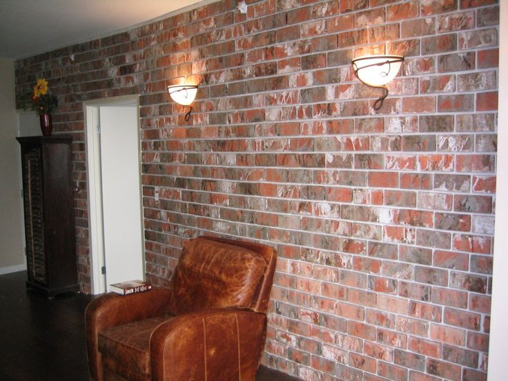 17 best images about ideas for the house on pinterest - Fake brick wall covering interior ...