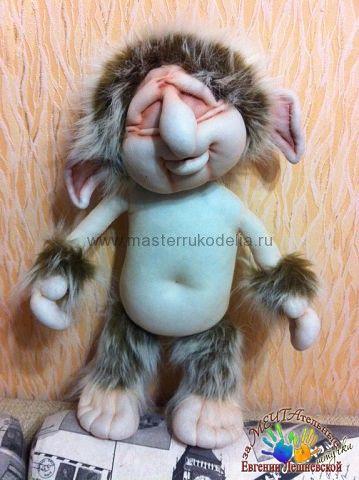 Текстильная кукла, мастер-класс «Тролль и СнежОК» от Евгении Лешневской   Мастер-классы по рукоделию