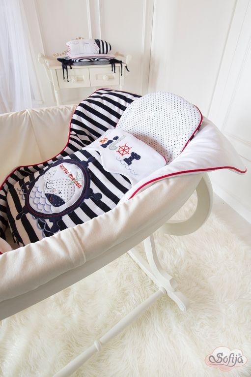 Bawełniany antyalergiczny becik dla dzieci Morskie Opowieści www.sofija.com.pl #sofija #morskieopowieści #marynarz #pościel #dziecko #pokójdziecka #polskiprodukt #baby #kids #kidsfashion #kidsroom #sweet #cute #kindermode #kinderzimmer #kinder #ребенок #Детскаямода #номерребенка