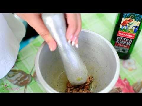 Λευκαντικό πήλινγκ προσώπου με λεμόνι!!! - YouTube