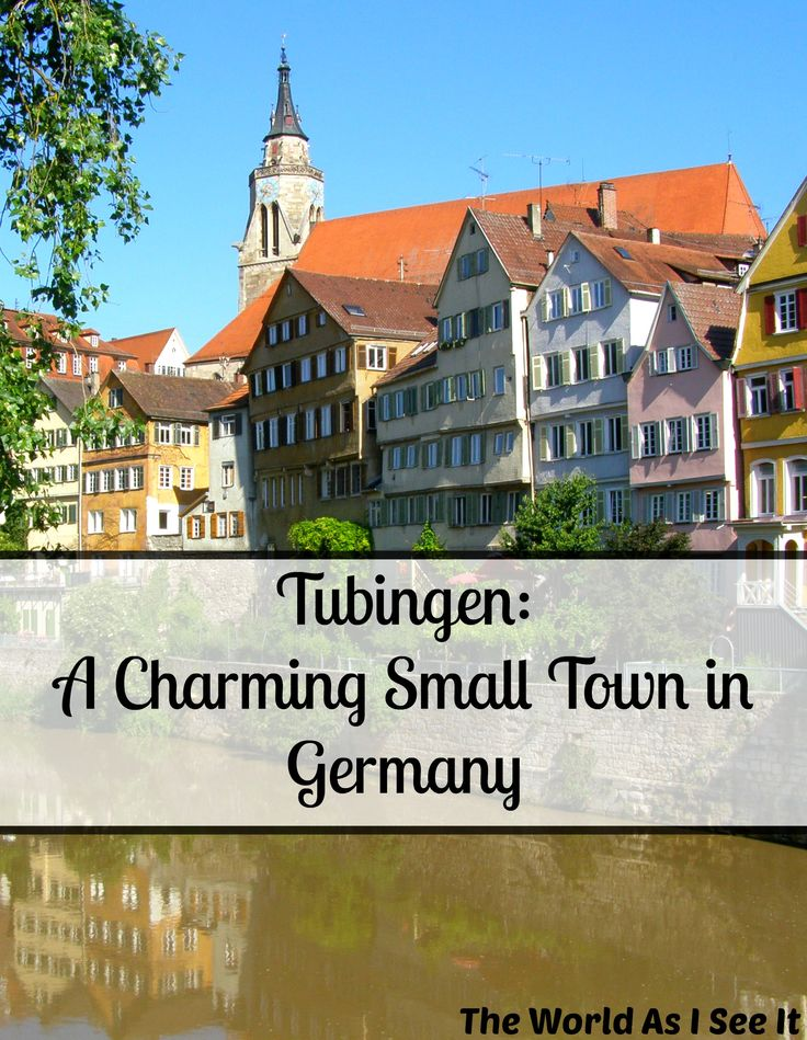 Vintage Tubingen A Charming Small Town in Germany