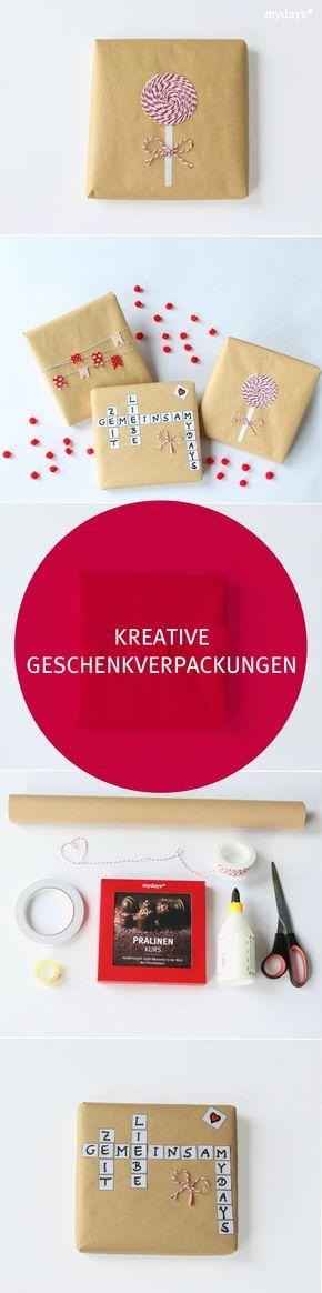 die besten 25 kreative geschenke ideen auf pinterest. Black Bedroom Furniture Sets. Home Design Ideas