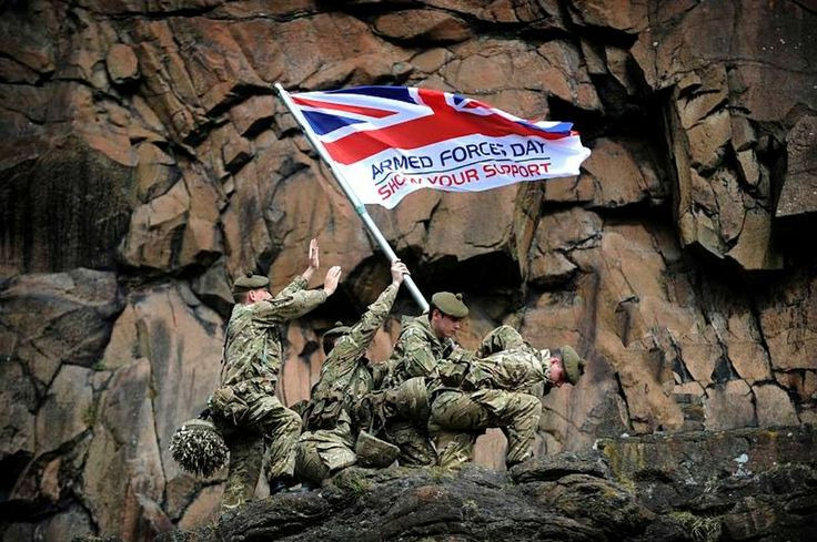 armed forces flag day uk