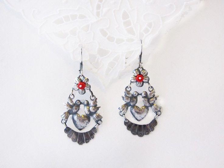 Lovebird Earrings: Ahhhh Jewelry, Accessories, Pretty Stuff