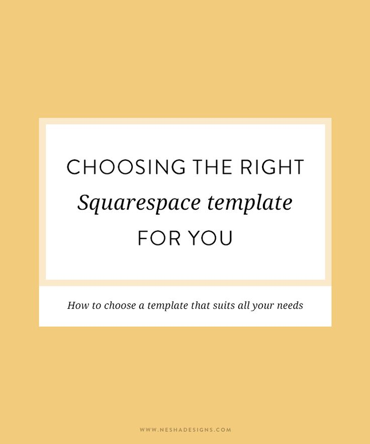 choosing the right squarespace template posts you from and the o 39 jays. Black Bedroom Furniture Sets. Home Design Ideas