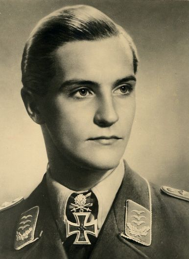 """Hans-Joachim Marseille (13 December 1919 – 30 September 1942) was a Luftwaffe fighter pilot and flying ace during World War II. One of the best fighter pilots of World War II, he was nicknamed the """"Star of Africa"""". Marseille claimed all but seven of his """"official"""" 158 victories against the British Commonwealth's Desert Air Force over North Africa, flying the Messerschmitt Bf 109 fighter for his entire combat career."""