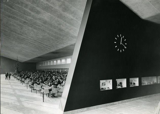 Giulio Minoletti 1910-1981 Mensa per impiegati Pirelli, Milano Bicocca... 1956