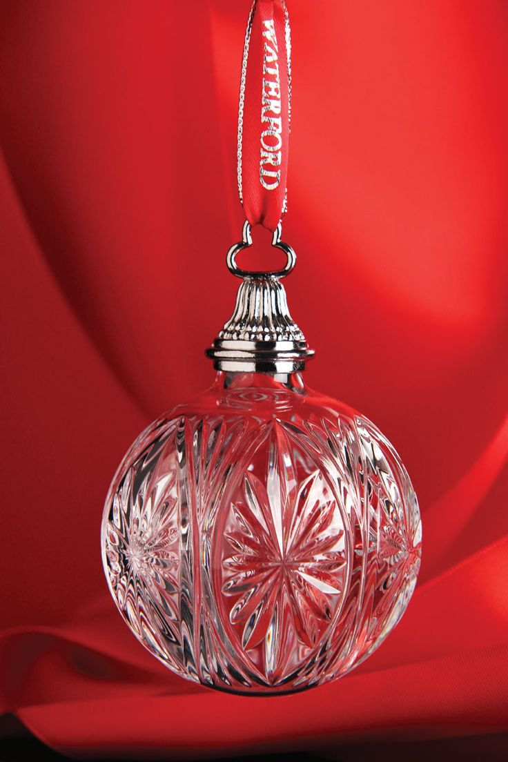 Waterford 2014 Winter Star Ball Ornament