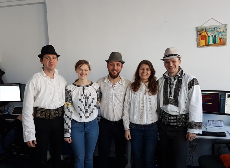 Celebrating Romania Unification Day here at ASSIST Software