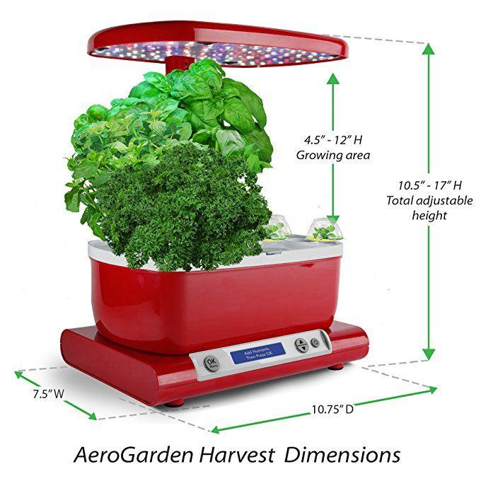 Amazon Com Aerogarden Harvest With Gourmet Herb Seed Pod 400 x 300