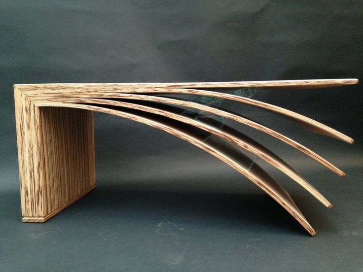 Plywood Table Design photo