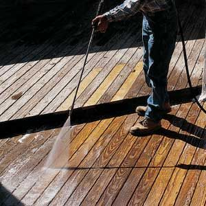Deck maintenance and cleaners