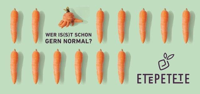 "Etepetete: ""krumme"" Gemüsekiste gegen Lebensmittelverschwendung (Bild: Etepetete)"