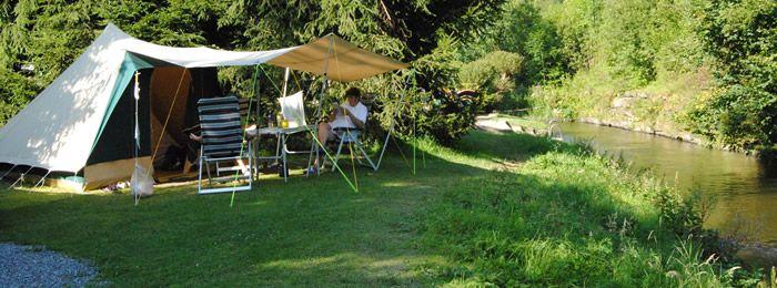 Camping Woltzdal = Genieten van prachtige vergezichten