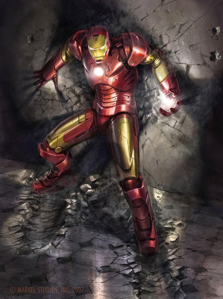 Iron Man - Phil Saunders | ComicBook BadAsses... | Iron ...