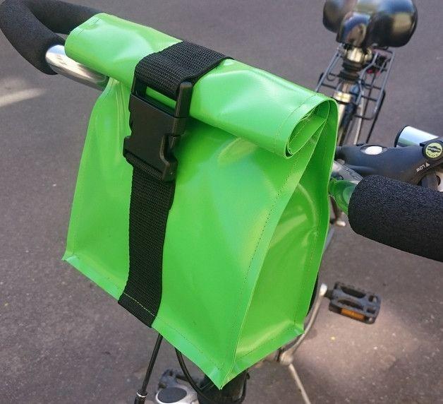 Fahrradtaschen - Lenkertasche, Fahrradtasche - ein Designerstück von Taschenmacherei bei DaWanda