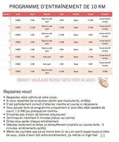 Programme d'entraînement débutant pour courir un 10 KM en 8 semaines - Bulles & Bottillons