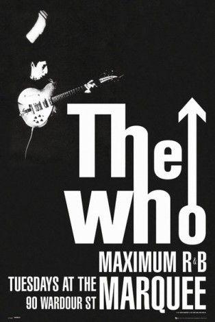 The Who Maximum - plakat - 61x91,5 cm  Gdzie kupić? www.eplakaty.pl