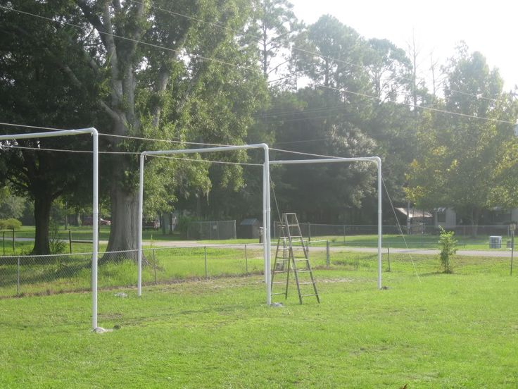 Pvc Batting Cage Living At The Whitehead S Zoo