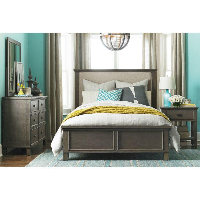 Canora Grey Upholstered Panel Customizable Bedroom Set