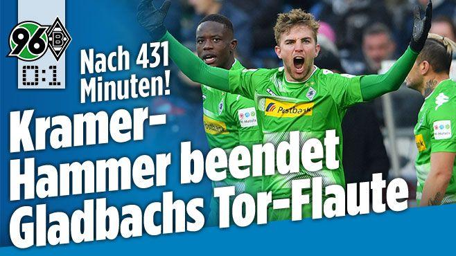 Hannover 96 gegen Bor. Mönchengladbach - Bild.de