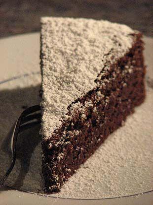 Zarter Schokoladenkuchen