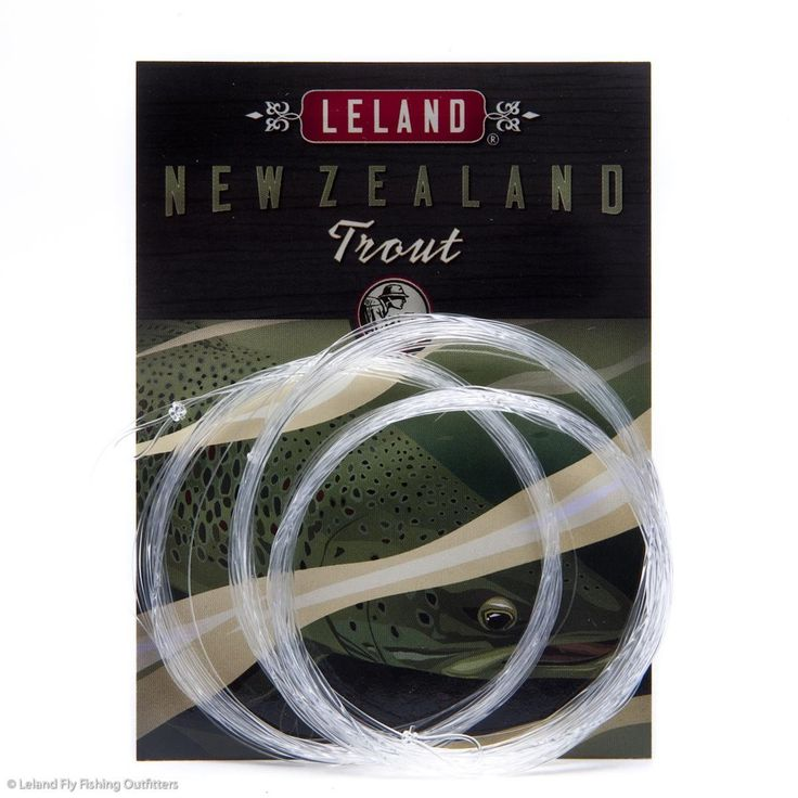 Leland Rod Company New Zealand Trout Fly Fishing Leader 12