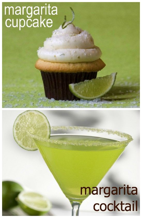 Margarita Cupcakes - Definitely got to try these!