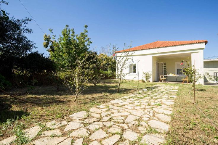 Check out this awesome listing on Airbnb: Home with gardens at countryside - Houses for Rent in Chrisavgi