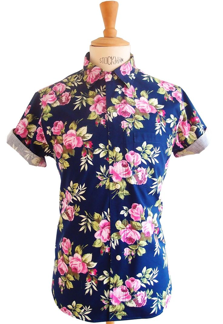 Men floral shirt - clothing - menswear -Men's shirt -Men fashion - street wear  IG : pupuleshirts www.pupulestore.com