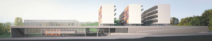 Gallery of results of the national competition for the Unifesp Student Housing - 15