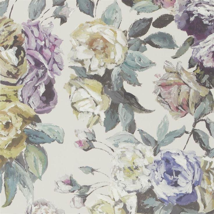 viola - heather wallpaper | Designers Guild