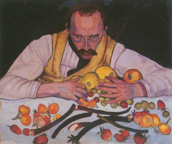 Stanisław Ignacy Witkiewicz (Polish, 1885-1939), Portrait of Dr. Ignatius Wassenberg, 1913.