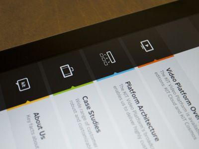 Kit Digital iPad App Menu by Bureau Oberhaeuser