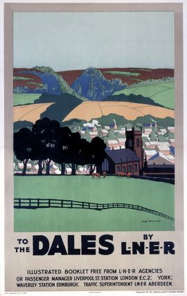 'To the Dales by LNER', LNER poster, 1923-1947., Tollemache, Duff