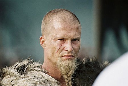 Til Schweiger with long... hm... beard  I like him without long hair as well. :D