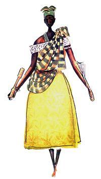 """Imagens retiradas do livro """"Os Deuses Africanos no Candomblé da Bahia"""" de Caribé"""