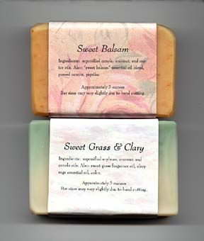 Sweet Grass and Clary Sage Soap Recipe