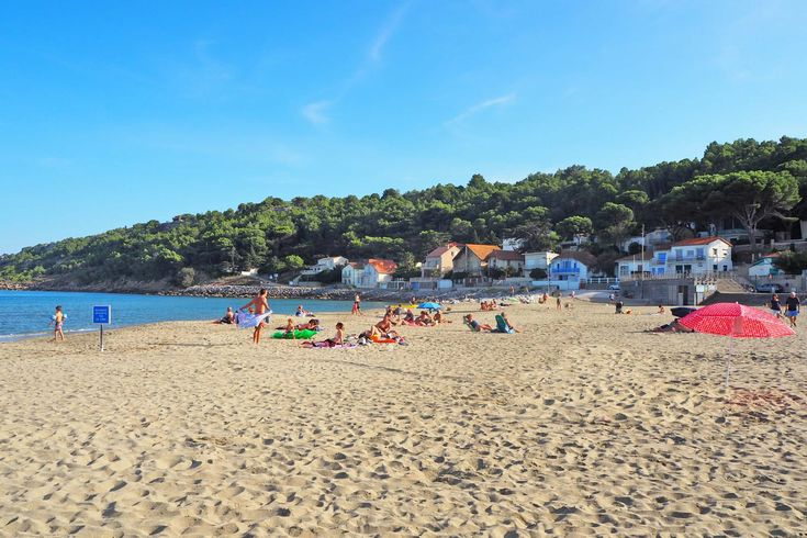 La Franqui is a hidden gem of a beach half an hour from Narbonne. Visit for a relaxed vibe and lovely, large sandy beach