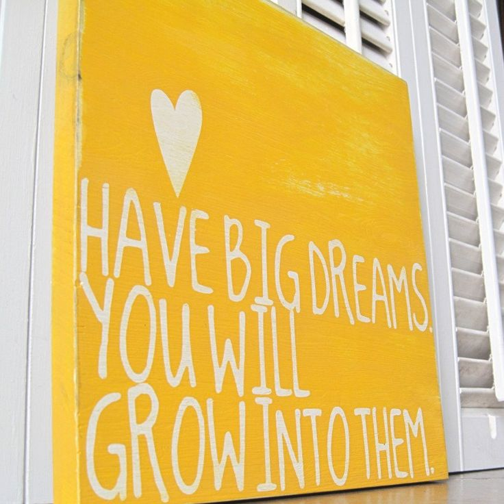 Cute saying for kid's rooms. Use vinyl & modpodge, and then paint & peel off vinyl.