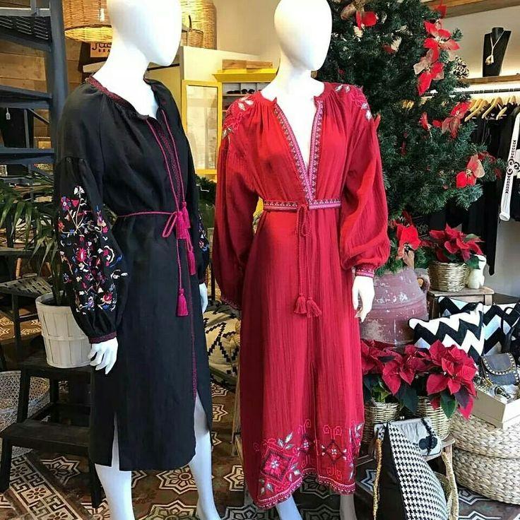 At justbrazilstore.com /Yiorgos Koulasidis black embroidered dress