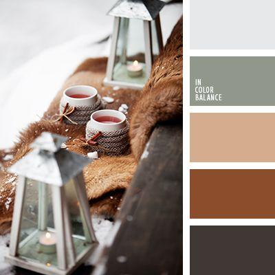 beige, color de la piel, color del té, colores de otoño, colores del otoño 2015, combinación de colores, elección del color, gris, gris pálido, marrón grisáceo, marrón oscuro, marrón rojizo, matices otoñales, selección de colores, tonos marrones.