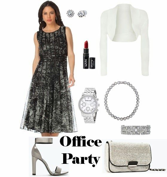 Real Girl Runway: Office to Office Party Style