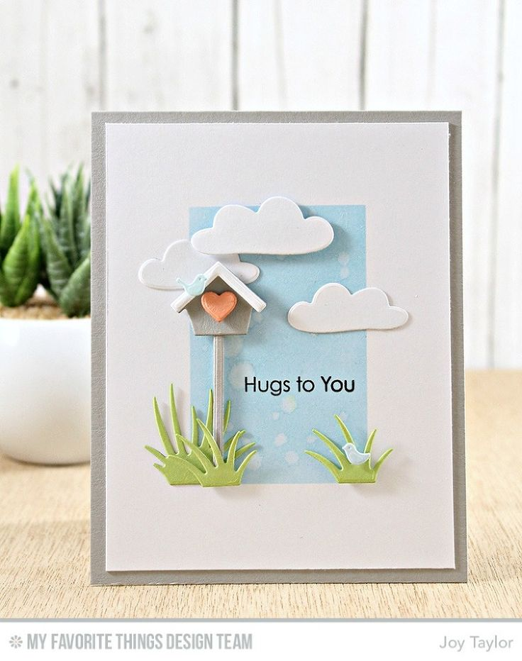 Birdhouse Die-namics, Cloud 9 Die-namics, Jungle Friends Die-namics, Tag Builder Blueprints 6 Die-namics, Lots of Hugs Stamp Set - Joy Taylor  #mftstamps