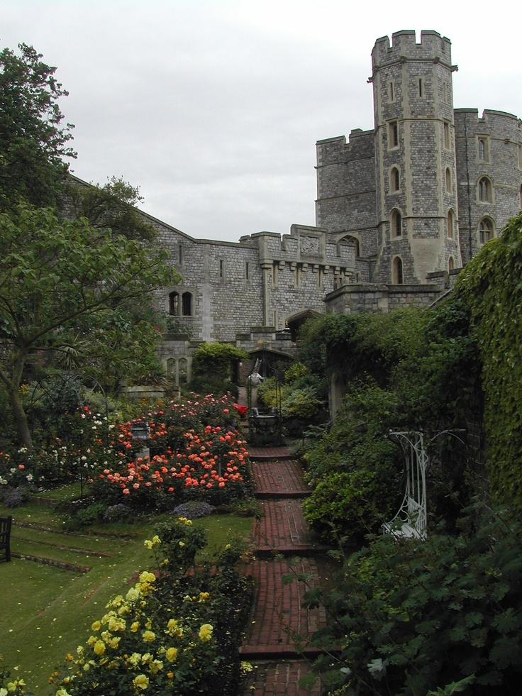 Windsor Castle -- visited many times...before the fire!